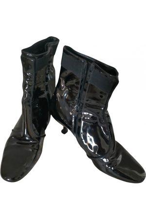 Salvatore Ferragamo Patent leather ankle boots