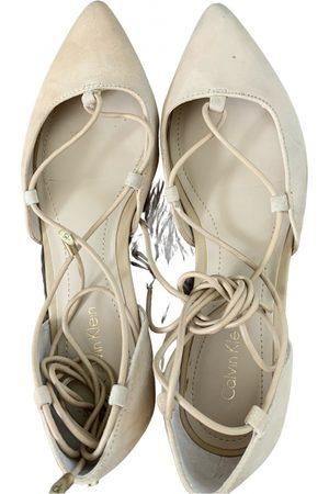 Calvin Klein Leather ballet flats