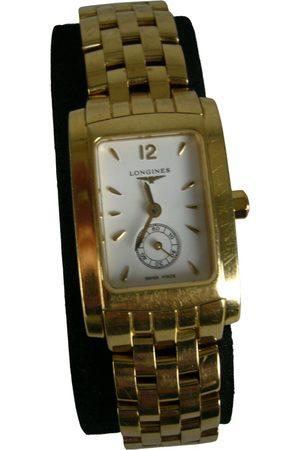 Longines Dolce Vita yellow watch