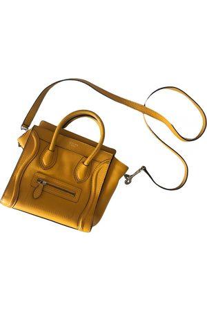 Céline Nano Luggage leather handbag