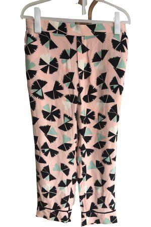 Marc Jacobs Women Straight Leg Pants - Silk straight pants