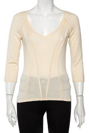 Dior Cashmere corset