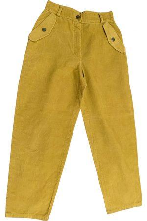 Enrico coveri Velvet trousers