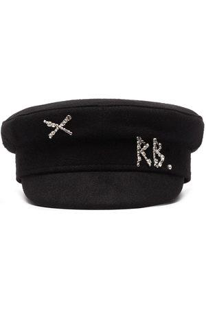 Ruslan Baginskiy Men Hats - Baker boy wool hat
