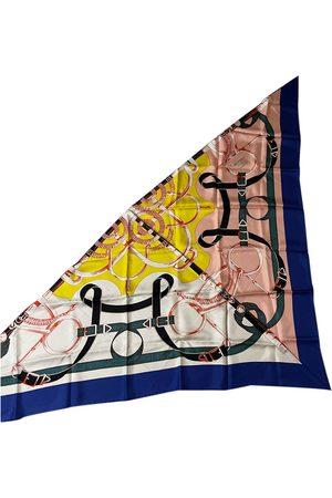 Hermès Pointu silk neckerchief