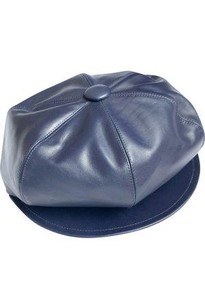Dior Women Caps - Leather cap