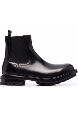 Alexander McQueen Ankle Boots - Leather ankle boots