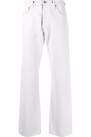 Maison Margiela Skinny Pants - Trousers white