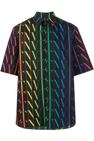 VALENTINO Shirts - Vltn times cotton shirt