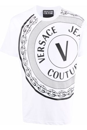 VERSACE Polo Shirts - T-shirts and polos white