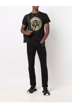 VERSACE Polo Shirts - T-shirts and polos black