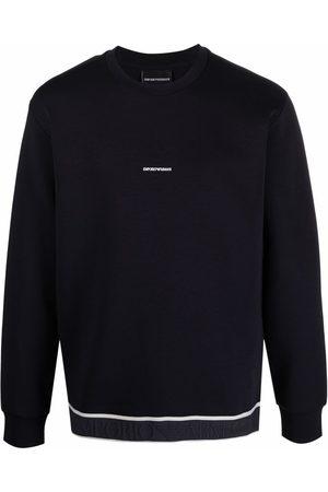 Emporio Armani Sweatshirts - Logo cotton sweatshirt