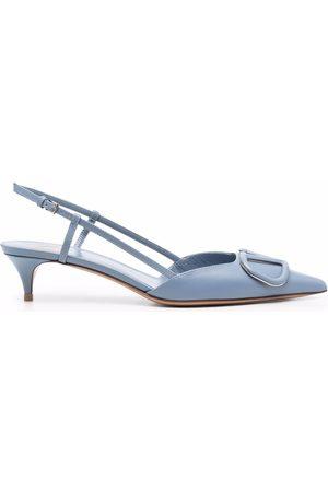 VALENTINO GARAVANI Women High Heels - Vlogo signature leather pumps