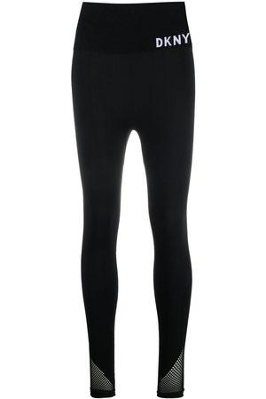 DKNY Nylon logo leggins