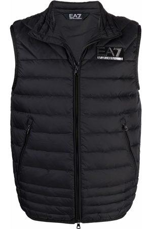EA7 Waistcoats - Logo down waistcoat