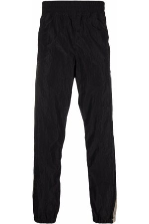 Palm Angels Men Sweatpants - Logo-Patch Track Pants