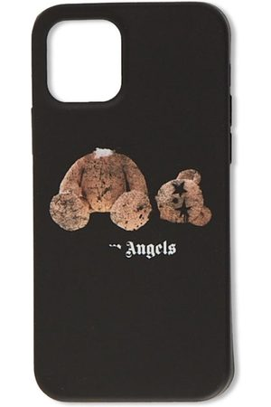 Palm Angels Men Phones Cases - Spray Pa Bear Iphone Case 12 Promax