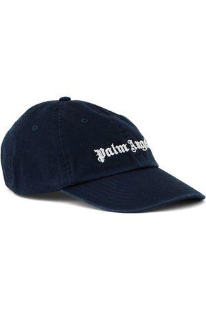 Palm Angels Men Caps - Classic Logo Cap Blue
