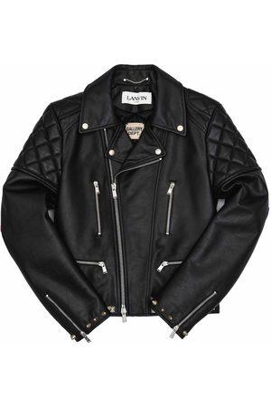 Lanvin Men Leather Jackets - Gallery Dept. X Biker Jacket Black (Men's)