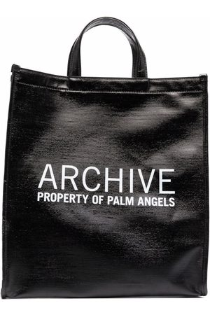 Palm Angels Archive-Print Tote Bag