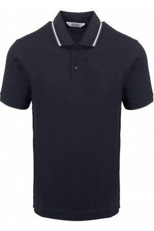 Z Zegna Men Polo Shirts - Stripe Detail Polo Shirt