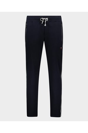 Paul & Shark Men Stretch Pants - Cotton stretch Bermuda with iconic badge