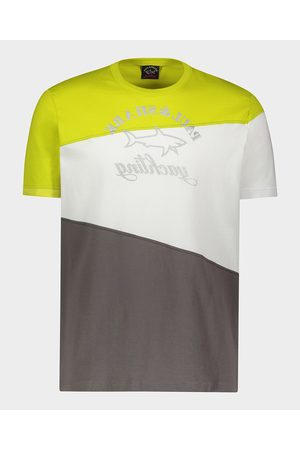 Paul & Shark Men Short Sleeve - Organic Cotton T-Shirt With Printed Logo