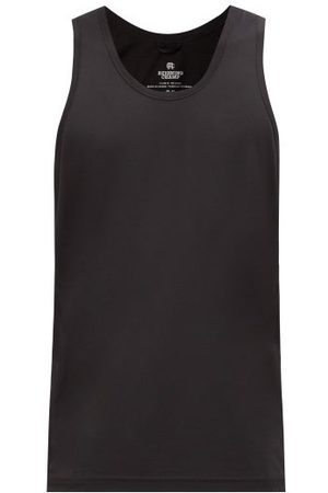 Reigning Champ Scoop-neck Technical-mesh Tank Top - Mens