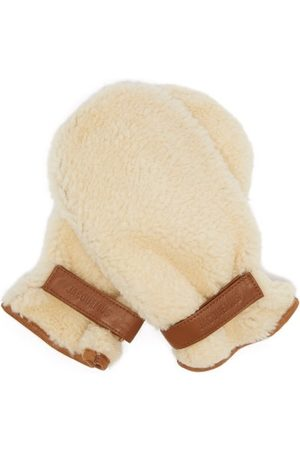 Jacquemus Men Gloves - Leather-trimmed Shearling Mittens - Mens