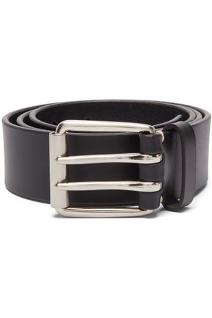 Raey Men Belts - Wide Bridle-leather Belt - Mens