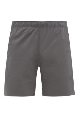 "Reigning Champ Hybrid 7"" Technical-shell Shorts - Mens - Grey"