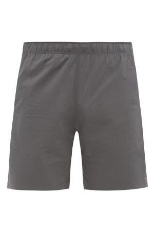 "Reigning Champ Men Sports Shorts - Hybrid 7"" Technical-shell Shorts - Mens - Grey"