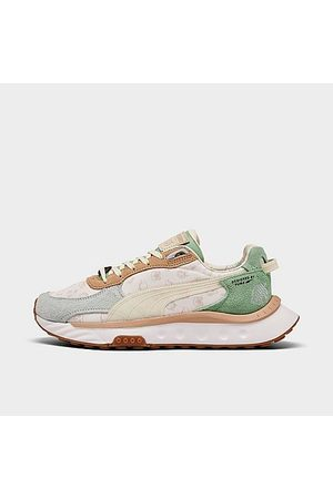 PUMA Casual Shoes - Big Kids' x Animal Crossing: New Horizons Wild Rider Casual Shoes in /Light Sky Size 4.0 Lace