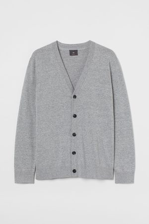 H&M Men Cardigans - Cotton Cardigan