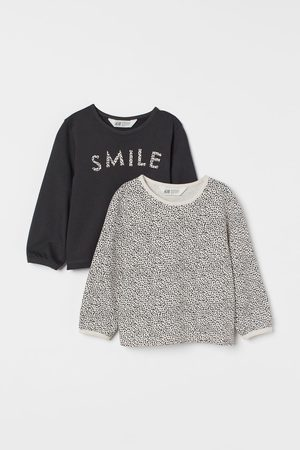 H&M Kids Sweatshirts - 2-pack Cotton Sweatshirts