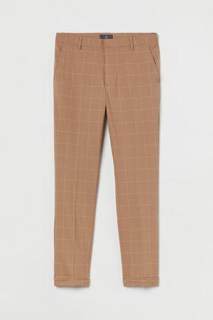 H&M Men Skinny - Skinny Fit Crop Slacks
