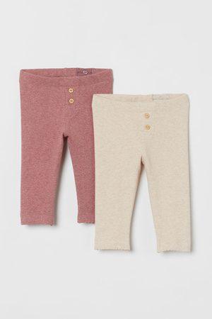 H&M Kids Jeans - 2-pack Ribbed Leggings