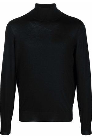 Brunello Cucinelli Men Turtlenecks - Roll-neck cashmere-silk blend