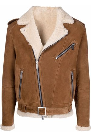 Dsquared2 Zip-up leather jacket