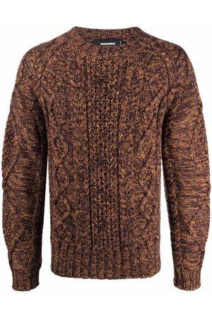 Dsquared2 Men Sweatshirts - Chunky-knit wool jumper