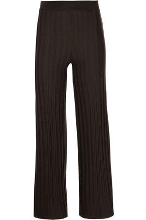 JONATHAN SIMKHAI Cropped straight-leg trousers