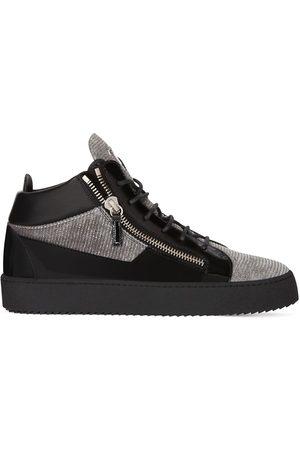 Giuseppe Zanotti Kriss mid-top sneakers - Grey