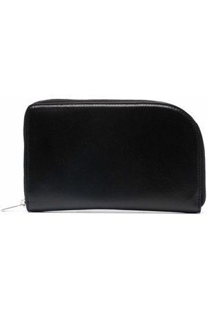 Rick Owens Zip-fastened passport pouch