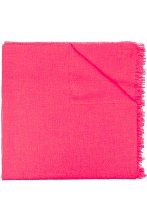 Zadig & Voltaire Fringed-hem knit scarf