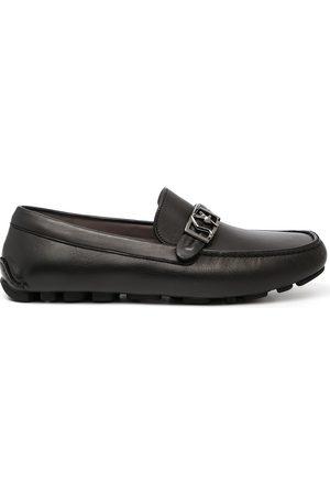 Salvatore Ferragamo Leather driver loafers