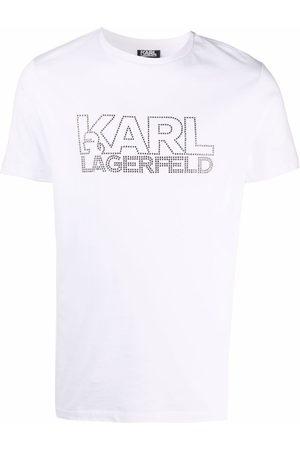 Karl Lagerfeld Men Short Sleeve - Logo-print short-sleeve T-shirt