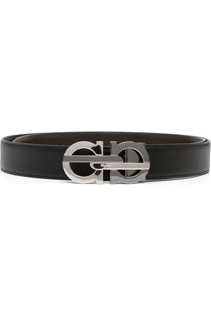 Salvatore Ferragamo Men Belts - Reversible and adjustable Gancini belt