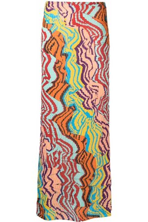 Missoni Women Printed Skirts - Abstract-print textured skirt
