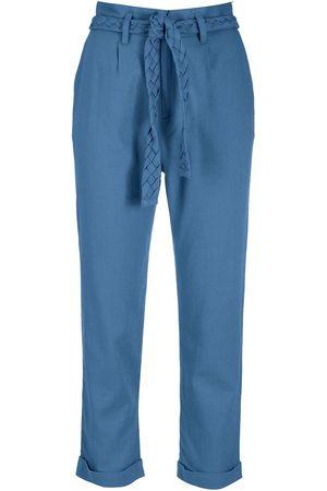 LUIZA BOTTO Women Straight Leg Pants - High-waisted cropped trousers