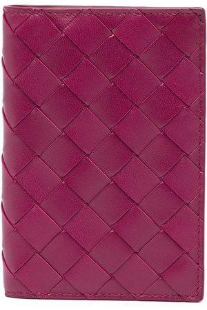 Bottega Veneta Women Wallets - Intrecciato weave passport holder